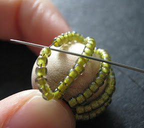 Adjusting New Bead Rows