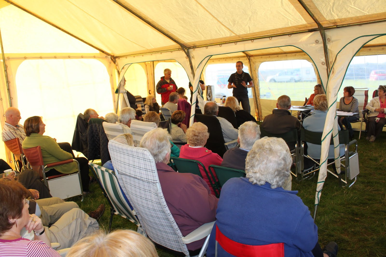 Barn Park Members Meet - October 2012