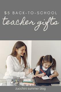 $5 teacher gifts