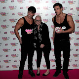 WWW.ENTSIMAGES.COM -      Gail Porter  at     The Dream Idols,hosts (Thomas) and take part in celebration of online bingo site Wink Bingo's partnership with male glamour group, Dream Idols.Angels Club, Wardour Street, London, March 18th 2013                                                Photo Mobis Photos/OIC 0203 174 1069