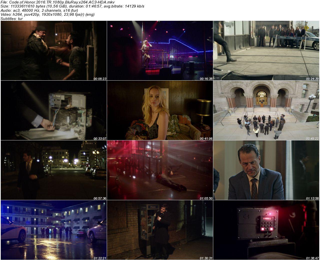 Code of Honor 2016 - 1080p 720p 480p - Türkçe Dublaj Tek Link indir