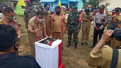 Desa Setuntung Kecamatan Belitang Deklarasi ODF dan Stop BABS