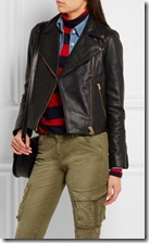 J Crew Leather Biker Jacket