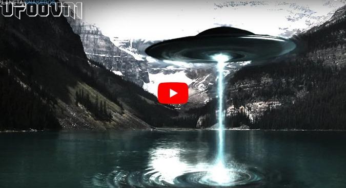 OVNIs UFO ESTÃO SUGANDO AS AGUAS DOS OCEANOS E DOS LAGOS