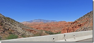 Virgin River Gorge, I-15 Arizona