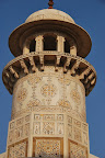 The Baby Taj is a mausoleum for the parents and relatives of a Mughal Dynasty Empress.