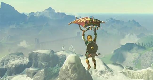 Zelda: Breath of the Wild   Komplettlösung: Vergessene Welt und Parasegel
