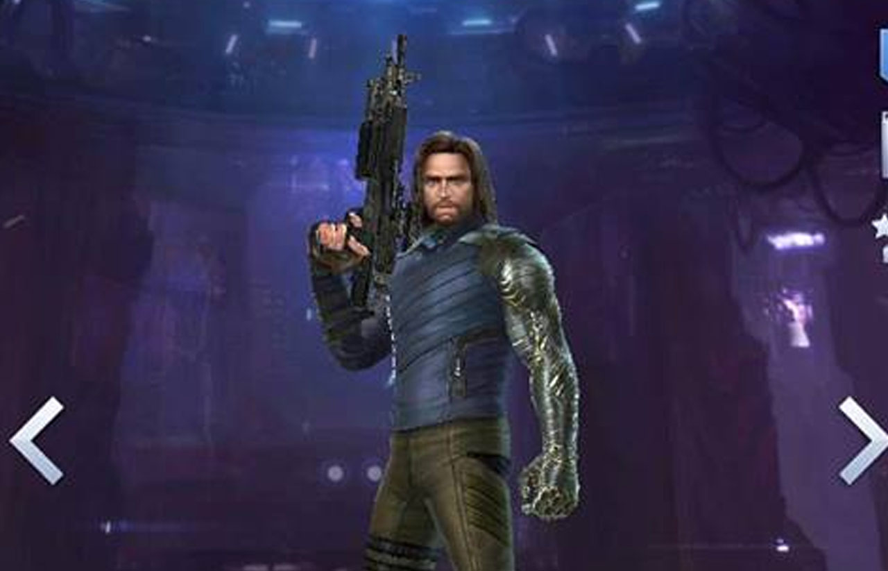 Review build Winter Soldier uniform infinity war