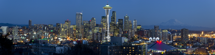 Seattle Skyline. Original: http://natewhitehill.com/epically-high-res-seattle-skyline-shot-7573x1947-pixels/