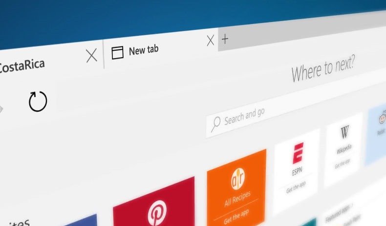 microsoft edge windows 10 new browser