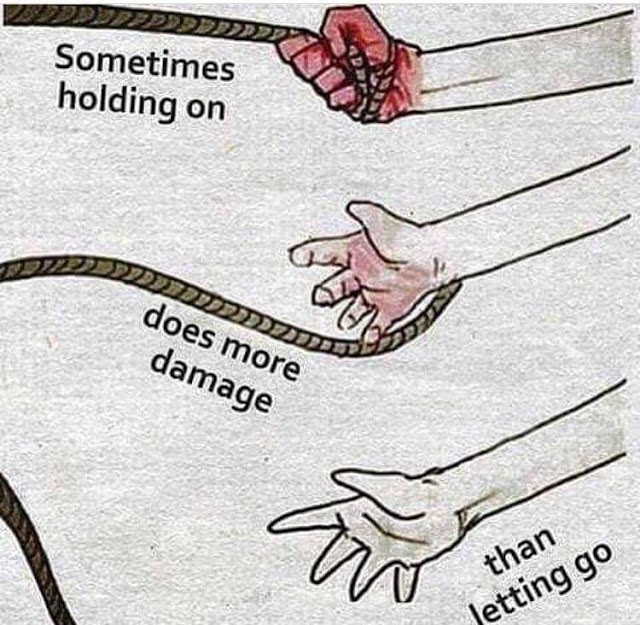 When relationship hurts