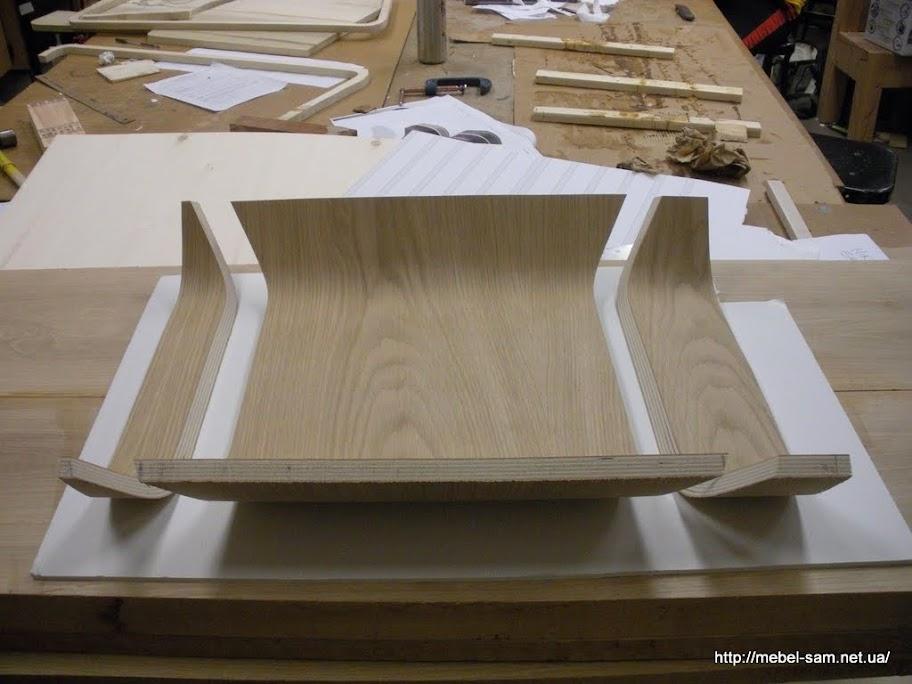 Фанерная заготовка сиденья кресла