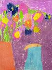 Chalk Pastel Still Life by Julia P