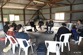 Photo: Mandolin Workshop led by L Davidson