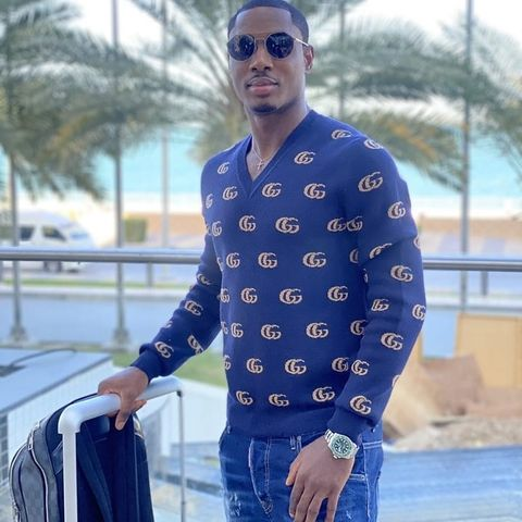 Odion Ighalo touches down in Saudi Arabia to seal his move to Al-Shabab from Shanghai Shenhua after loan spell at Manchester United, sports news nigeria, sd news blog, Lily pope TV, dimma umeh blog, is dimma umeh married,