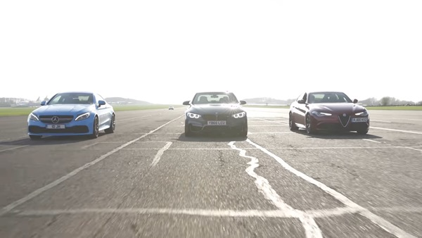 Alfa Romeo Giulia QV vs BMW M3 vs Mercedes-AMG C63 S