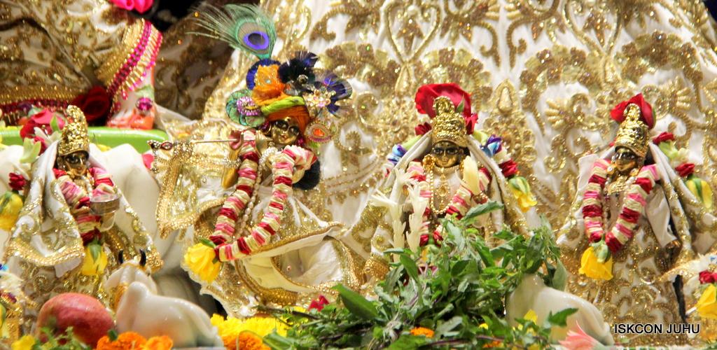 ISKCON Juhu Sringar Deity Darshan on 24th Oct 2016 (18)