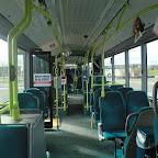Het interieur van de Mercedes Citaro van Connexxion bus 9153 met lijn 1 naar Stripheldenbuurt Oost
