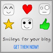 ET Smiley Set for Blogger: Emoticon Panel for Threaded Comments Form