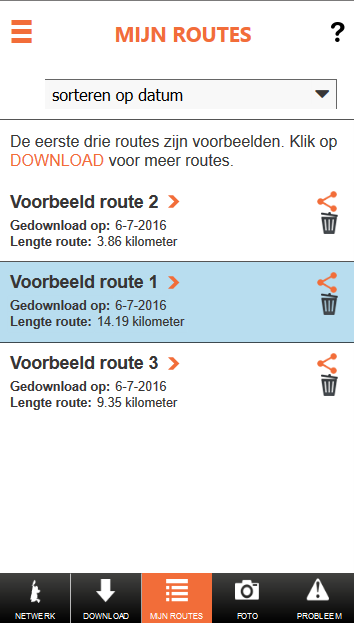 Wandelnetwerk Noord-Holland- screenshot
