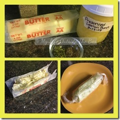 Lemon Herb Compound Butter