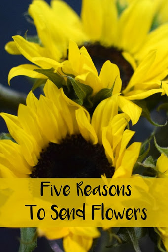 Five Reasons To Send Flowers