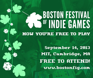Boston Festival of Indie Games announcement