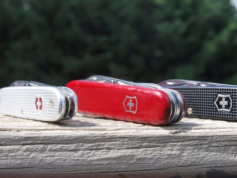Victorinox Electrician, Tinker, and Pioneer
