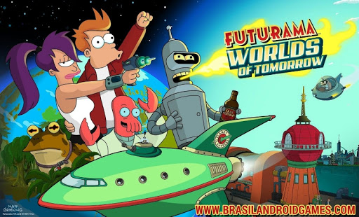 Futurama: Worlds of Tomorrow APK MOD DINHEIRO INFINITO