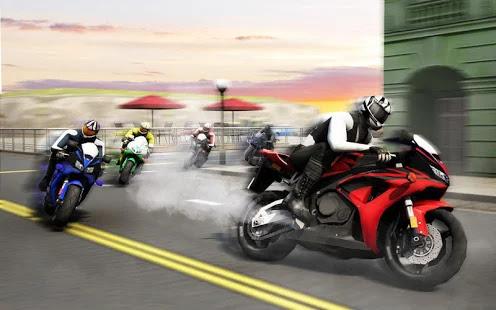 لعبة Moto Racer مهكرة