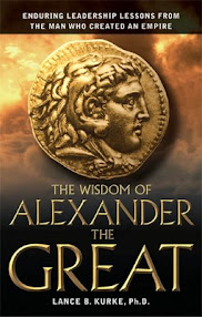 Cover of Lance Kurke's Book The Wisdom Of The Alexander The Great