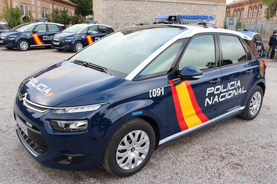 942 nuevos vehículos radiopatrulla de la Policía Nacional
