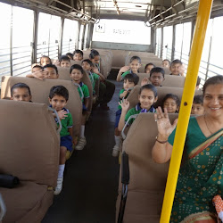 2015-04-24 Visit to Super Market - Classes Nursery and Pre-Nursery