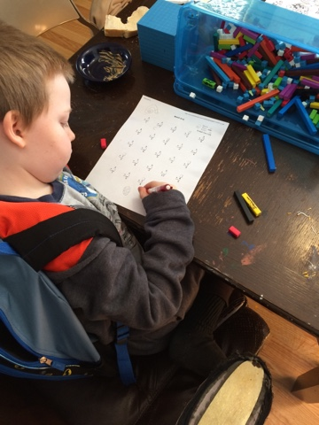 A candid peek into a day in our Christian Classical homeschool education.