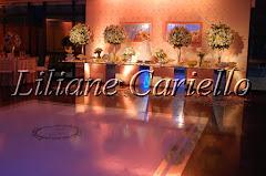 Fotos de decoração de casamento de Casamento Daniele e Eduardo no Clube Paissandu da decoradora e cerimonialista de casamento Liliane Cariello que atua no Rio de Janeiro e Niterói, RJ.