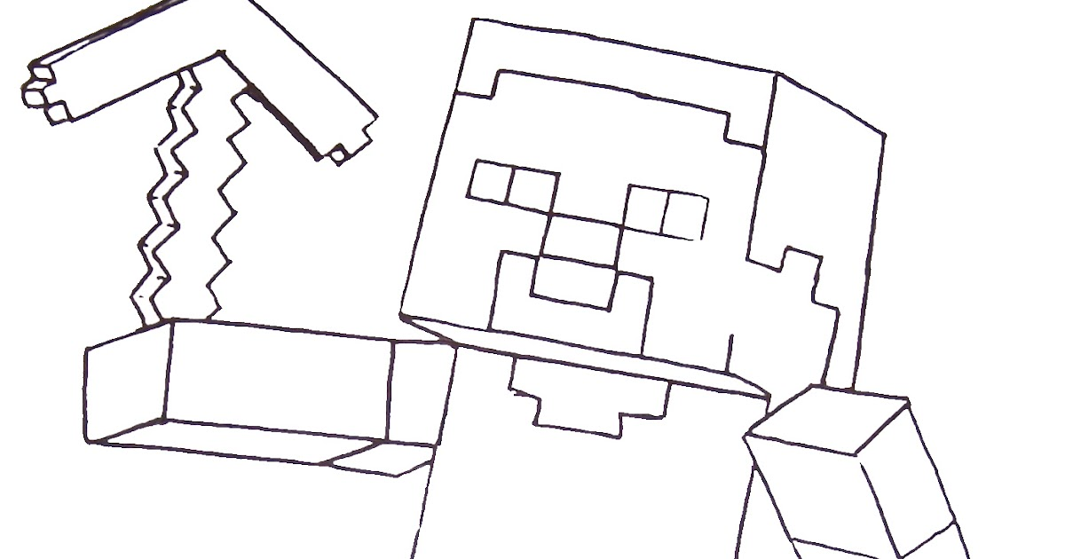 Best Free Minecraft Skins Coloring Pages Image