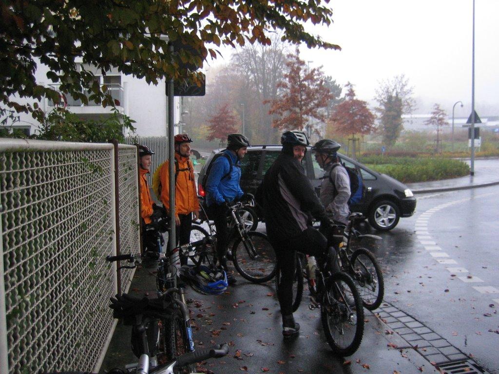 Spessart-Biker Tour am 03.11.2007