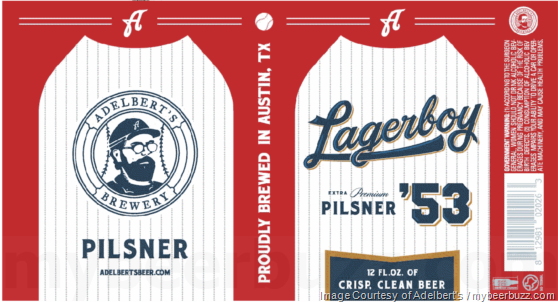 Adelbert's Brewery Adding Lagerboy Cans