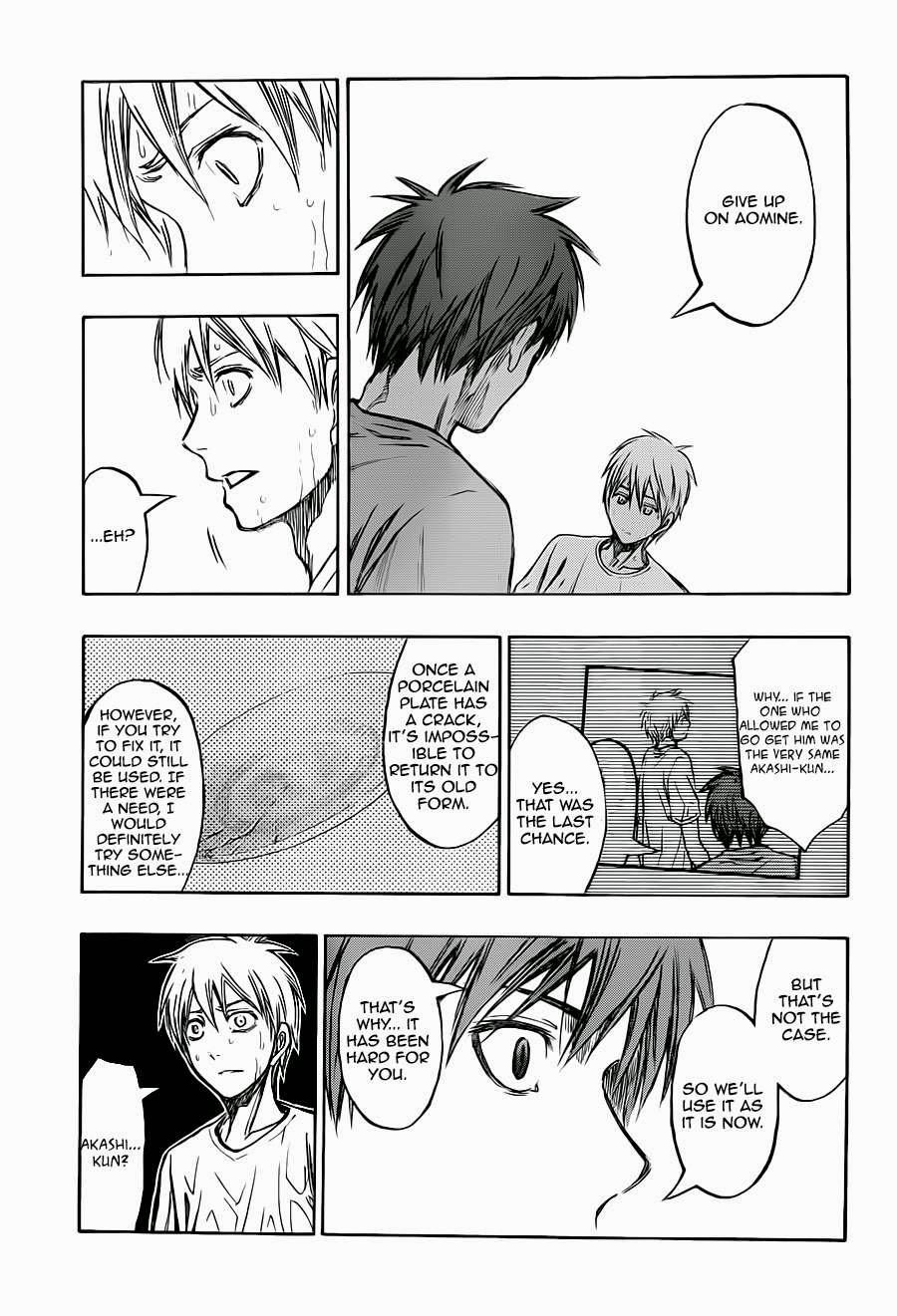 Kuroko no Basket Manga Chapter 221 - Image 17