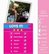 Teen Vogue Me Girl Level 25 - Music Festival - Morgan - Love It! Three Stars