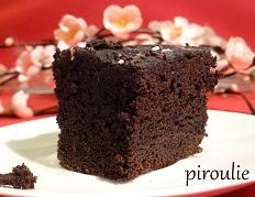 Recette du Gâteau choco de Piroulie