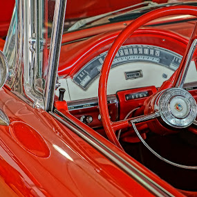 A Vision in Red by Alycia Marshall-Steen - Transportation Automobiles (  )