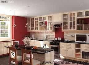 Kệ bếp gỗ 13
