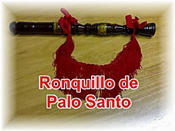 VENDO RONQUILLO de PALO SANTO para GAITA.Modelo antiguo.Anillado