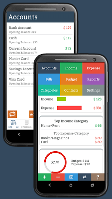Home Budget Book - screenshot