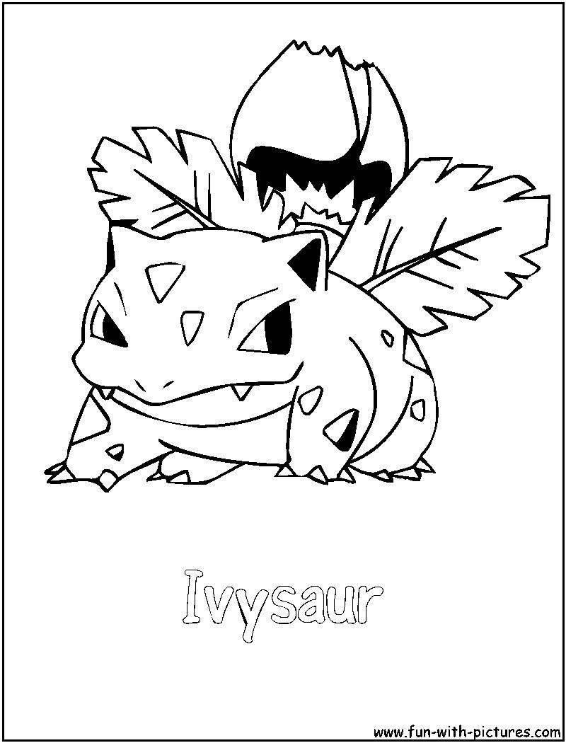 Top Pokemon Venusaur Coloring Pages