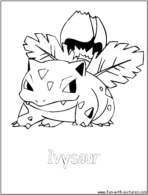 Best HD Pokemon Venusaur Coloring Pages Photos