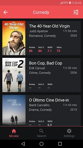 Newonflix - Streaming movie catalogue 1.6.1 screenshots 4