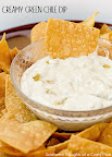 Creamy Green Chile Dip