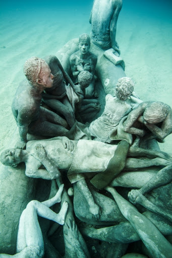 Museo atlantico a new underwater museum in lanzarote for Spain underwater museum